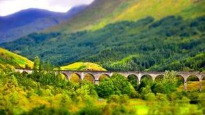 Viaducto de Glenfinnan Escocia