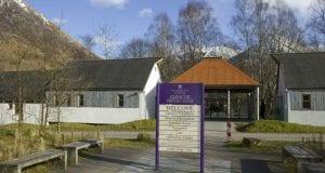 Centro de Visitsantes de Glencoe
