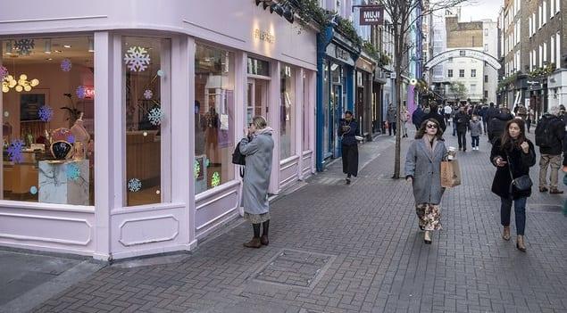 Tiendas en Carnaby Street