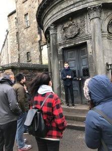 Ruta del free tour en Edimburgo