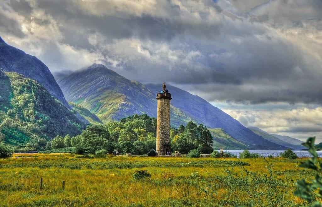 Monumento de Glenfinnan Escocia