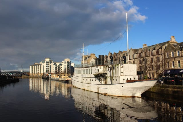 Barrio de Leith en Escocia