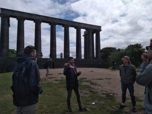 Free tour de Edimburgo en grupos reducidos