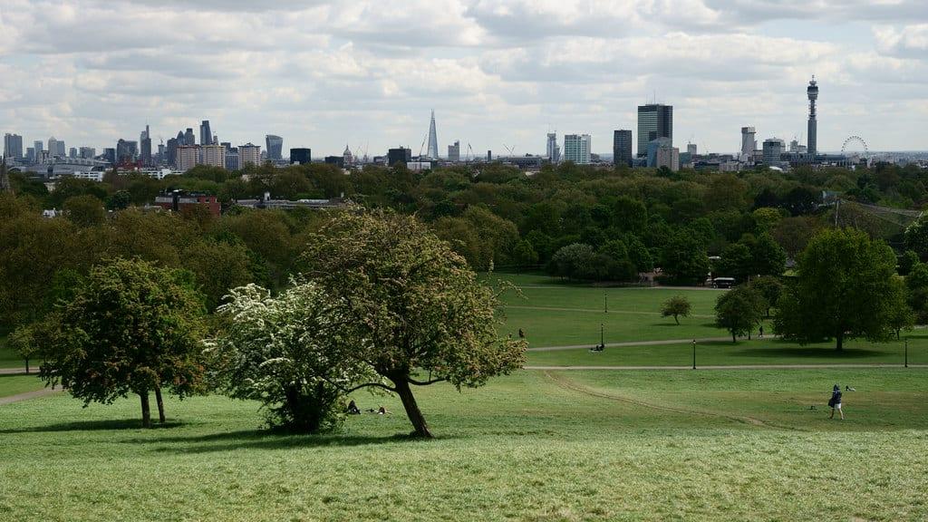 Primrose Hill junto a Regent's Park