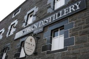 Destilería de Whisky en Oban