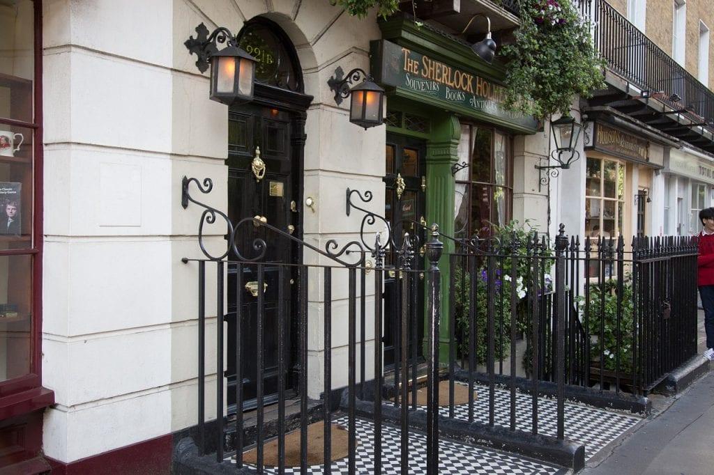 Sherlock Holmes Museum en Baker Street