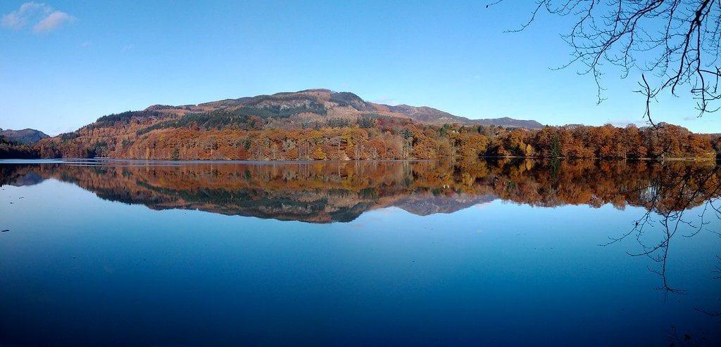 Lago Faskally Pitlochry