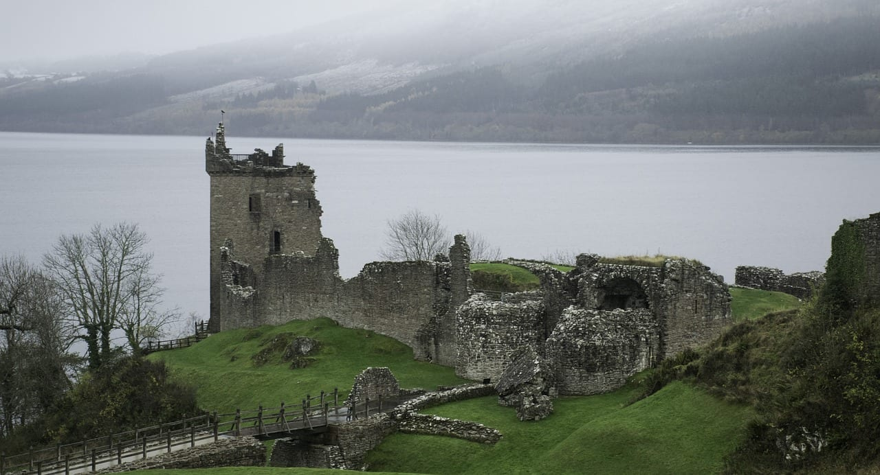 Ruinas del Castillo de Urquhart
