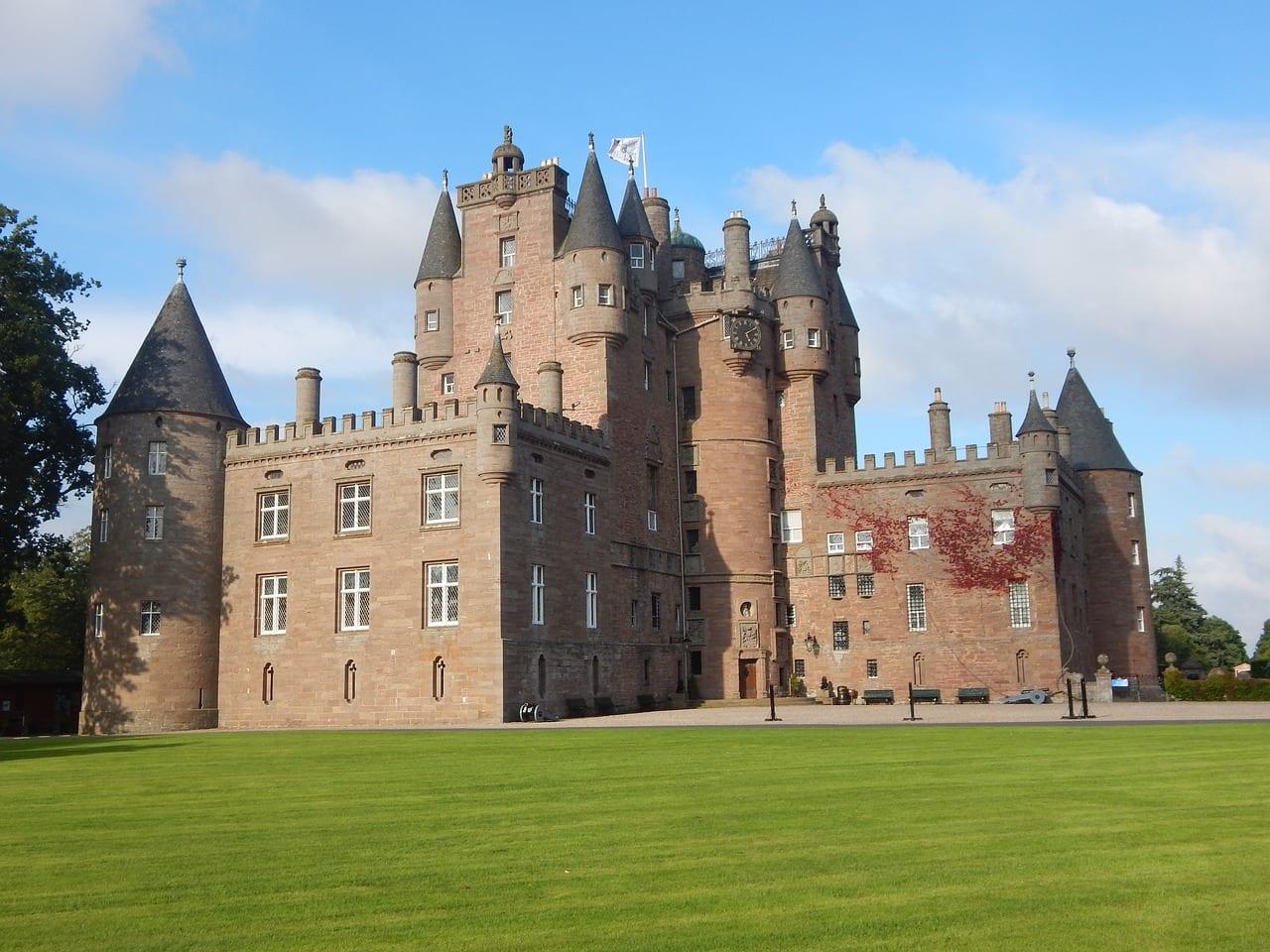 Historia del castillo de Glamis