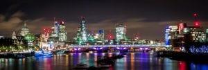 La Espectacular Vista de la Ciudad de Noche