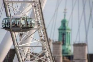 London Eye para Ver Londres desde las Alturas