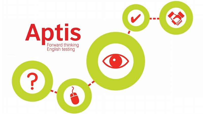 Imagen principal del logotipo del examen APTIS en Madrid
