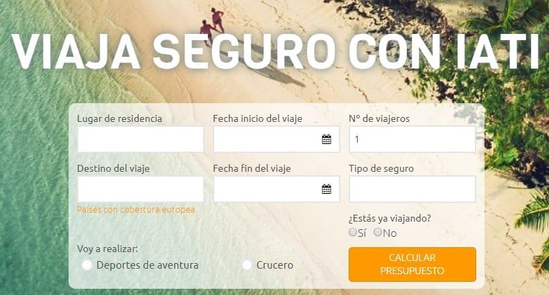 Iati ofrece su popular servicio de seguro de viajes.