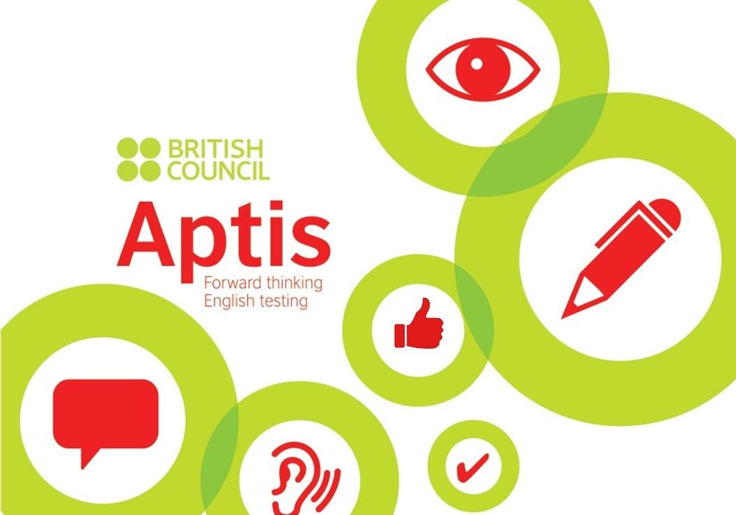 Logo del examen APTIS
