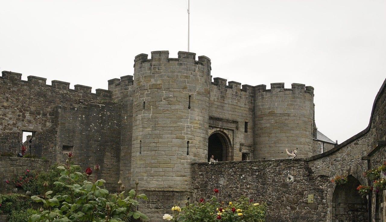 Interior del Castillo Stirling