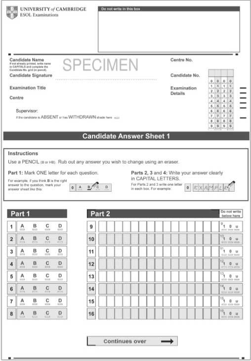 El examen Paper Based se realiza totalmente en papel.