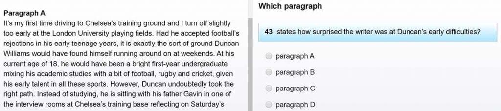 El Use of English es la parte más larga del examen First