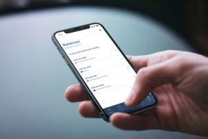 Cómo Hacer una transferencia desde una app